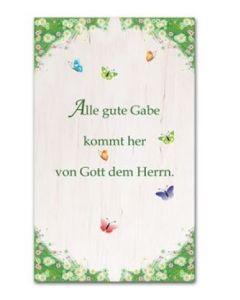 3539 Wandbild Alle gute Gabe - Kollektion Reuter