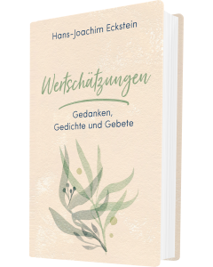 Wertschätzungen - Hans-Joachim Eckstein   CB-Buchshop