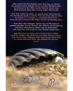 Faltkarte: Das Wunder der Perle - Geburtstag