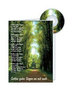 CD-Card: Gottes guter Segen - Geburtstag