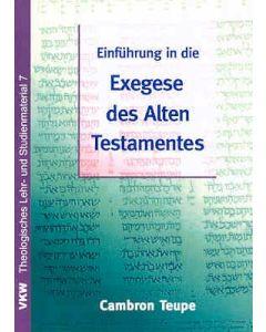 Einführung in die Exegese des Alten Testaments