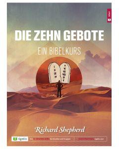ARTIKELNUMMER: 682065  ISBN/EAN: 9783957900654 Die zehn Gebote Ein Bibelkurs Richard Shepherd CB-Buchshop Cover