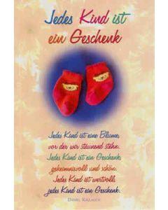 CD-Card: Jedes Kind ist ein Geschenk - Geburt
