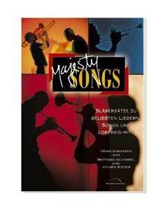 Majesty Songs - Notenausgabe, Jochen Rieger (Hrsg.), Matthias Schnabel (Hrsg.)