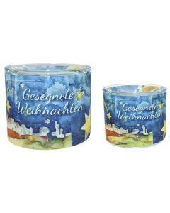 Leuchtglas 8 cm - Bethlehem