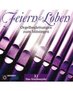 Feiern und Loben Orgel-CD