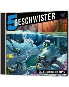 ARTIKELNUMMER: 940630000  ISBN/EAN: 4029856406305 Fünf Geschwister - Das Geheimnis der Maya (30) Tobias Schier (Prod.), Tobias Schuffenhauer (Sprecher) CB-Buchshop Cover