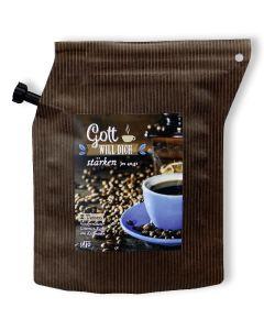"""Kaffee """"Gott will dich stärken. Jes. 40,31"""""""