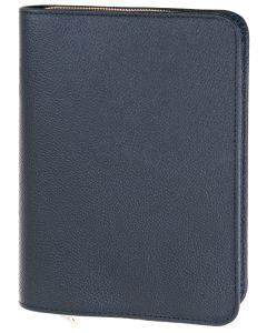 Bibelhülle Rindleder schwarz für Schlachter Standard
