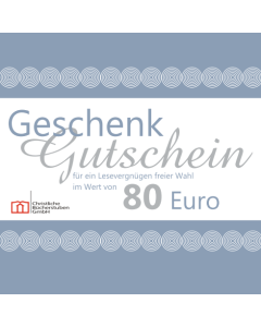 Geschenkgutschein über 80 € (Karte)