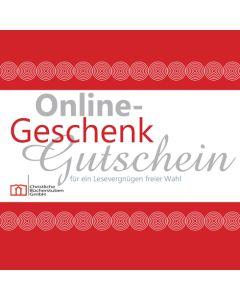 Online- Geschenkgutschein über 25 €