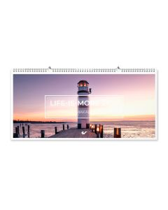 Life is more 2022 - Panoramakalender XXL-Format