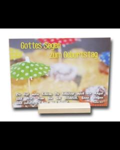 Kartenständer - Holz | CB-Buchshop